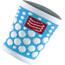 Compressport 3D Dots Sweatband Fluo Blue
